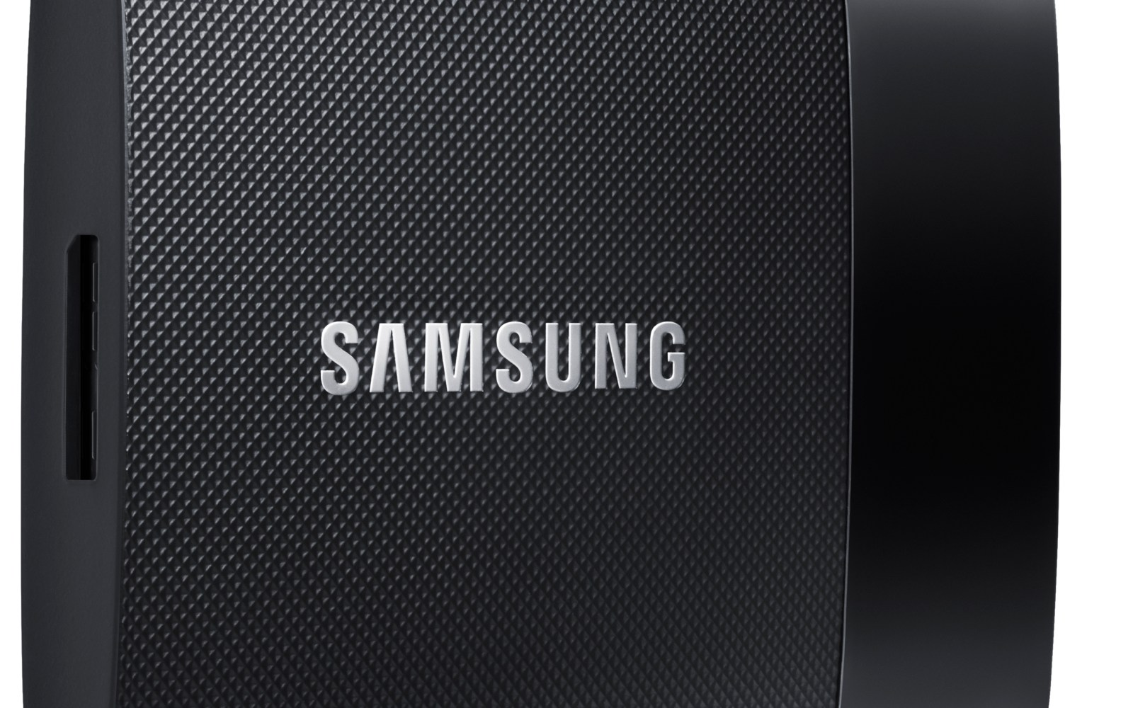 The Samsung portable SSD T1 is smaller than a business card and up to 100 times faster than a traditional HDD