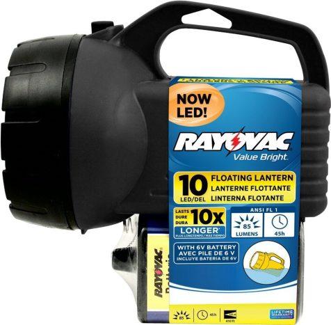 Rayovac Value Bright 85-Lumen 6V 10-LED Floating Lantern Battery with Battery (EFL6V10LED-B)-sale-01