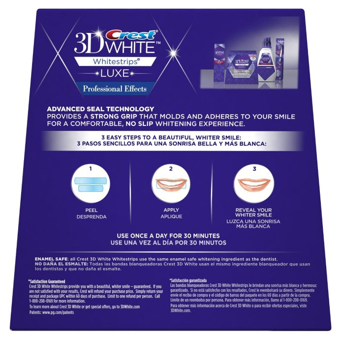 Crest 3D White Luxe Whitestrips Professional Effects-sale-01