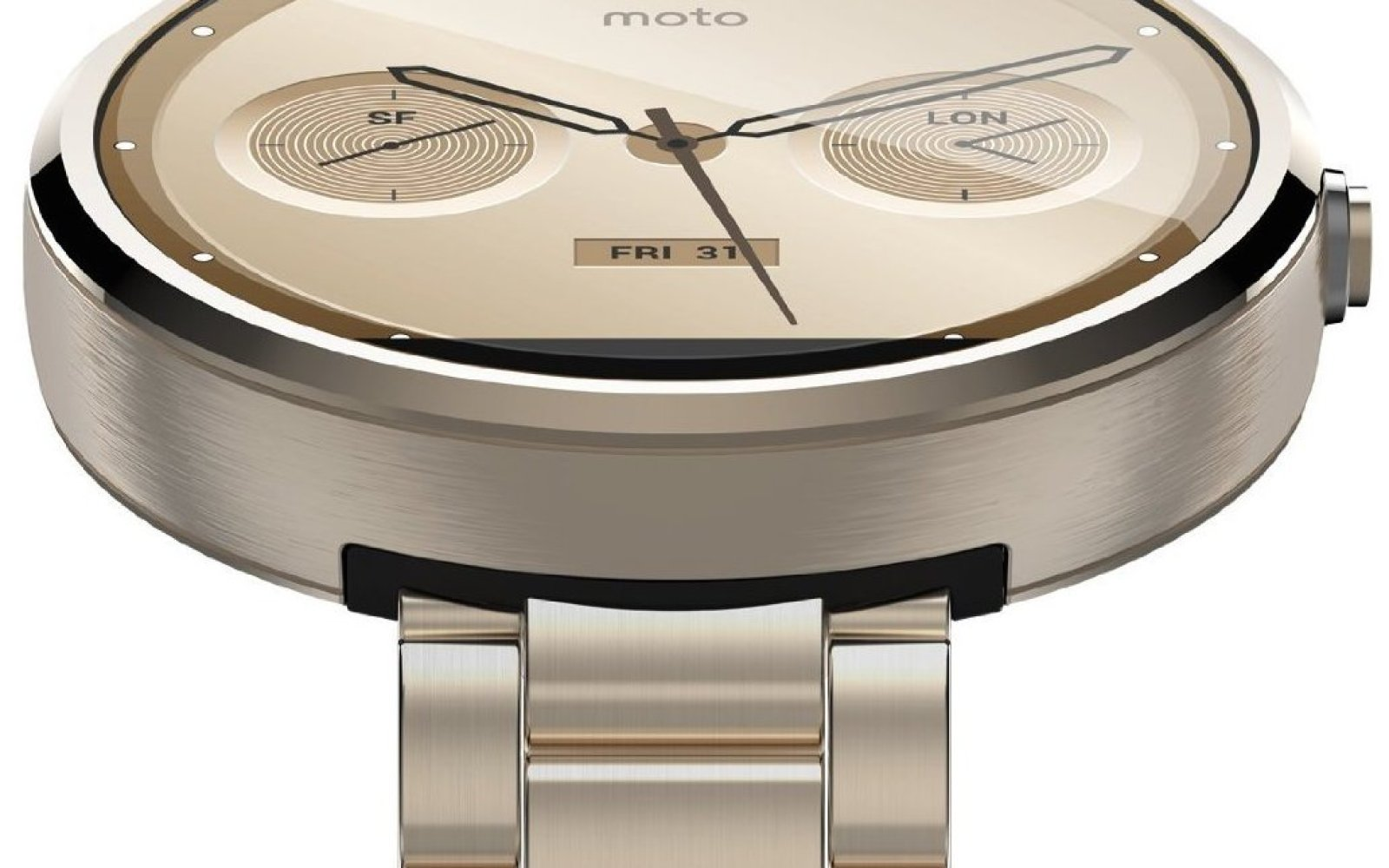 Moto 360, the best Android Wear Smartwatch, is on sale for $278 shipped in champagne gold (Reg. $330)