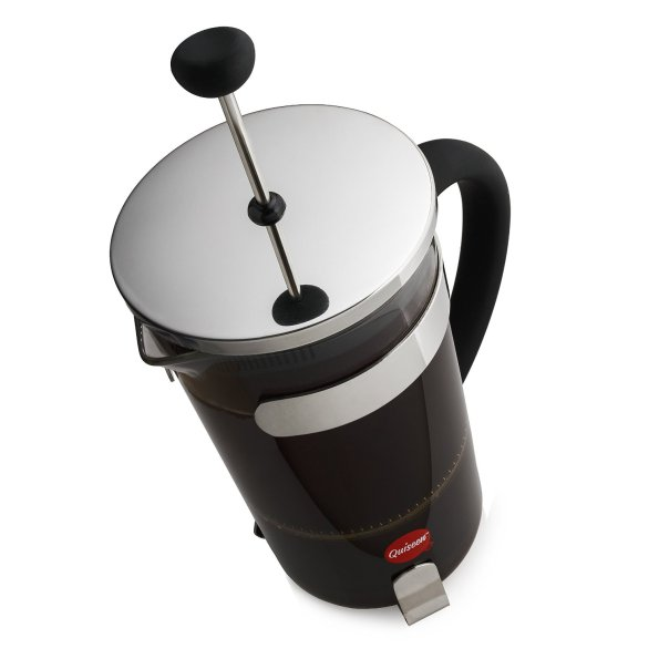 Quiseen French Press Coffee & Espresso Maker-01