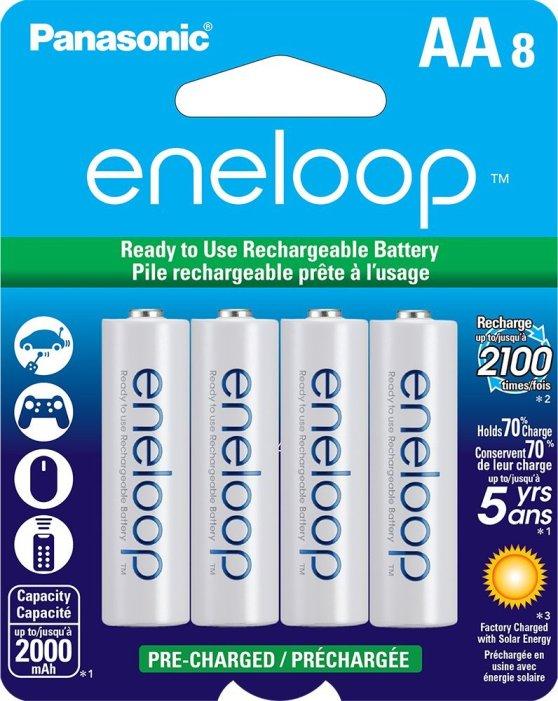eneloop rechargeable AAA