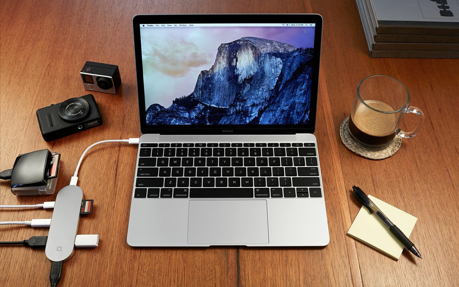 Hub+ USB-C accessory adds a bunch of connectivity options to your MacBook, keeps your iPhone charged on-the-go