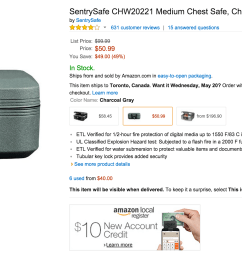 sentrysafe medium chest safe in charcoal gray chw20221 sale 02  [ 2870 x 1338 Pixel ]