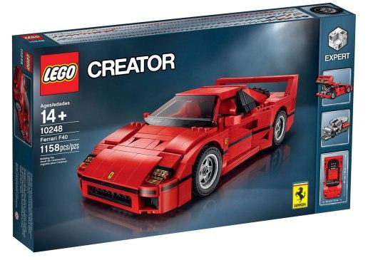 LEGO Creator Ferrari F40-02
