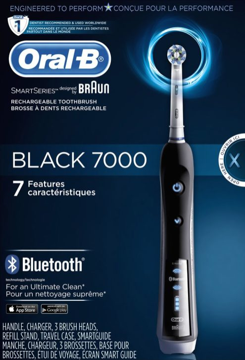 Oral-B BLACK 7000 SmartSeries Electric Rechargeable Power Toothbrush-sale-01