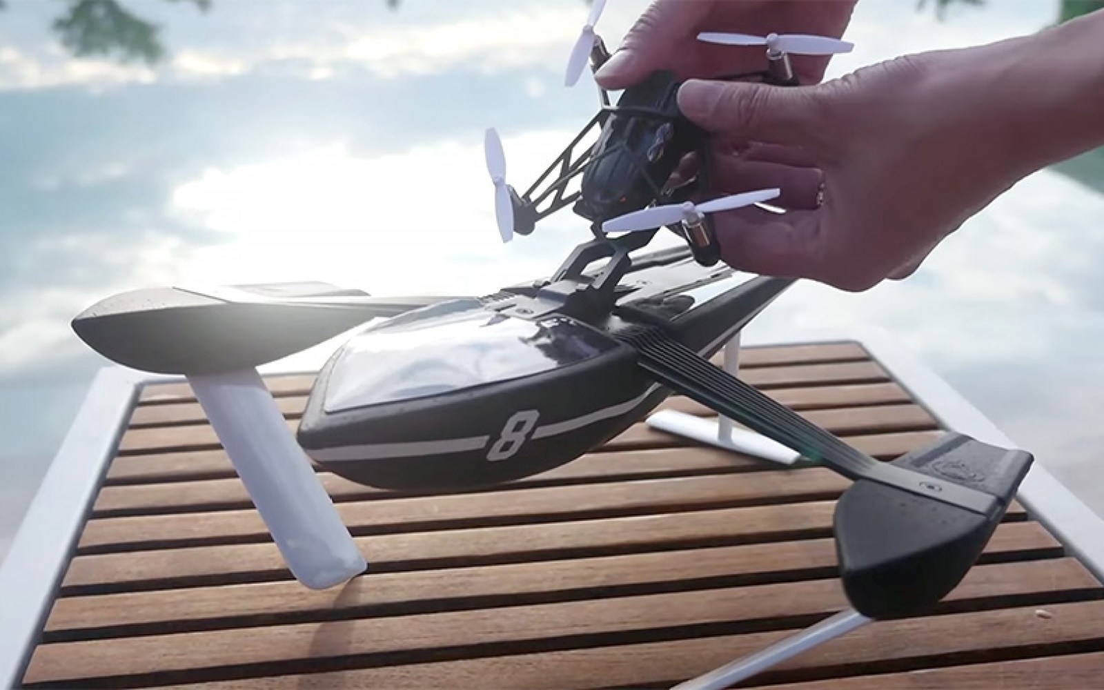 Parrot details new drones with upgraded specs for land, water and air