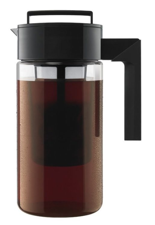 Takeya Cold Brew Iced Coffee Maker 1-Quart, Black-sale-01