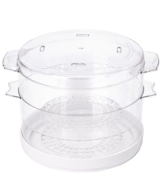 Oster 5-Quart Food Steamer in white (CKSTSTMD5-W-sale-02