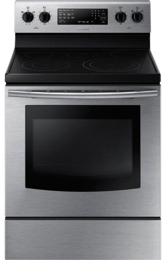 Samsung NE59J3420SS NE59J3420SS Electric 5.9 Cu. Ft. Stainless Freestanding Range-sale-01