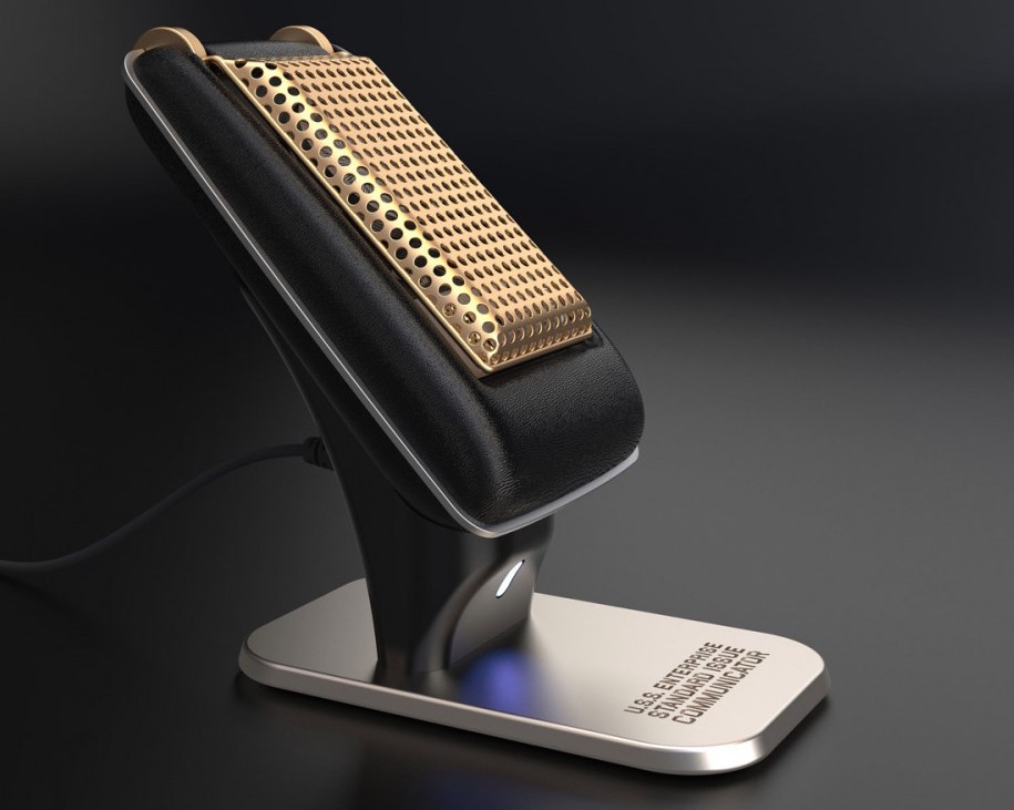 Itu0027s Finally Possible To Take Calls On Your Very Own Official Bluetooth Star  Trek Communicator
