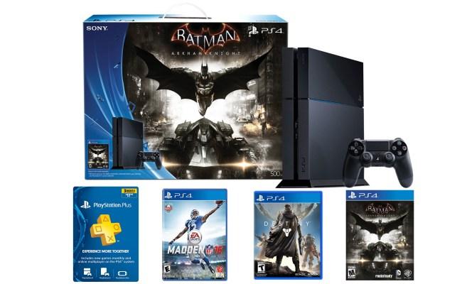 Sony Playstation 4 Batman Or Last Of Us Bundle W 3 Mo Ps