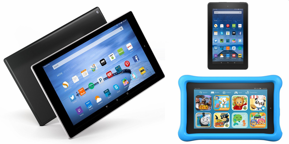 Amazon intros new $50 budget-friendly 7-inch Kindle Fire and 8/10-inch Kindle Fire HD plus 4K Fire TV