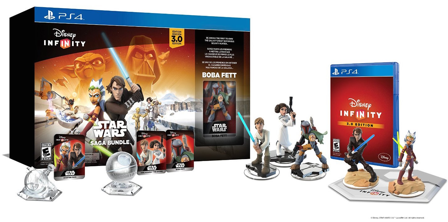 Games/Apps: Disney Infinity 3.0 Star Wars Bundle $81 (Reg. $115), Xbox One + $50 Amazon credit from $350, iOS freebies, more