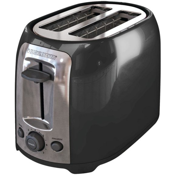 Black & Decker TR1278B 2-Slice Toaster in black-sale-01