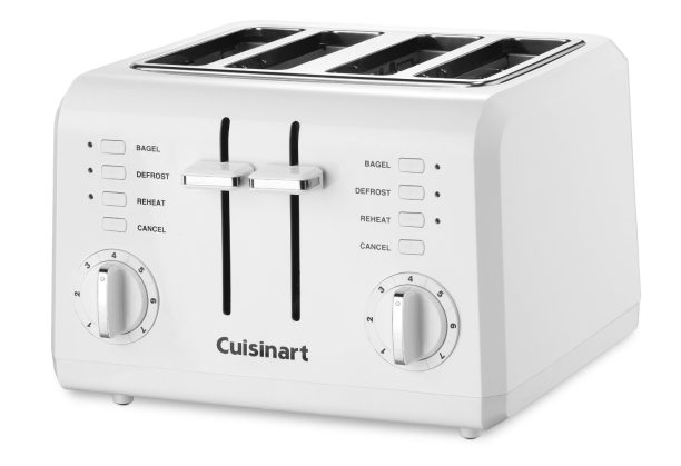 Cuisinart Compact 4-Slice wide slot toaster (CPT-142)-sale-01