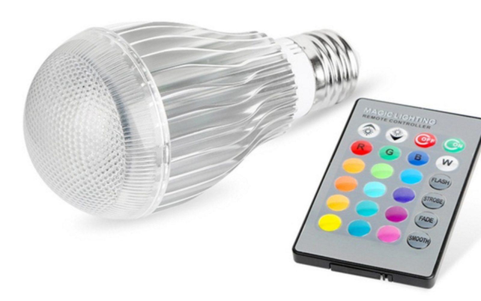 Led Color Changing Light Bulb Walmart