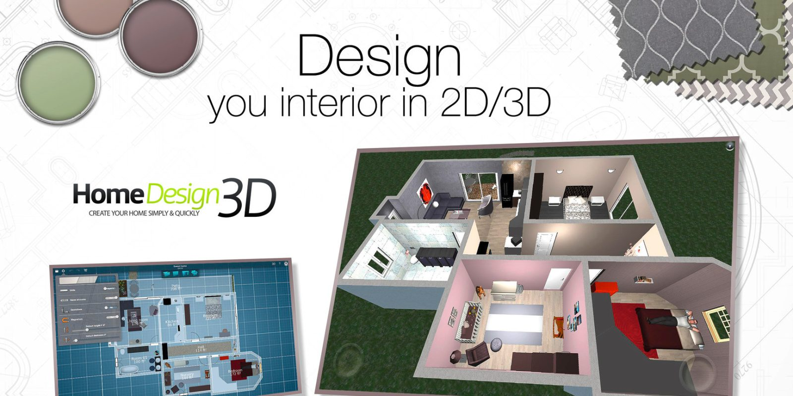 Home Designer 3D for iOS/Mac goes free for the first time, GOLD ...