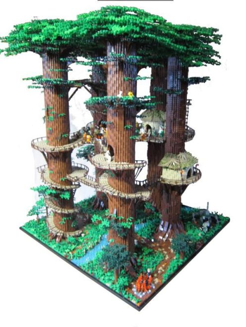 LEGO-Ewok village-01