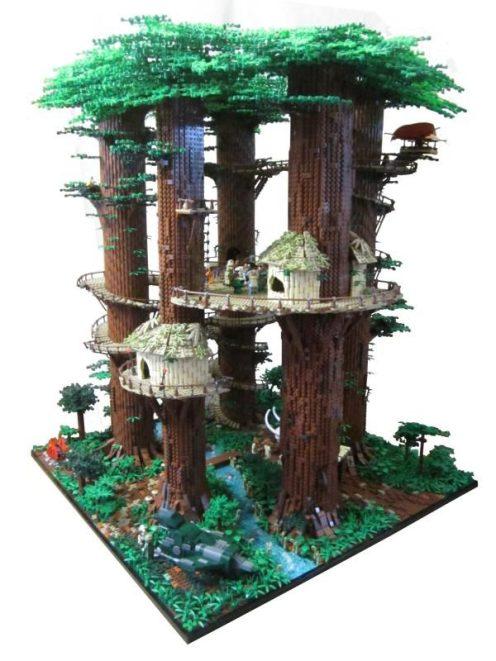 LEGO-Ewok village-02