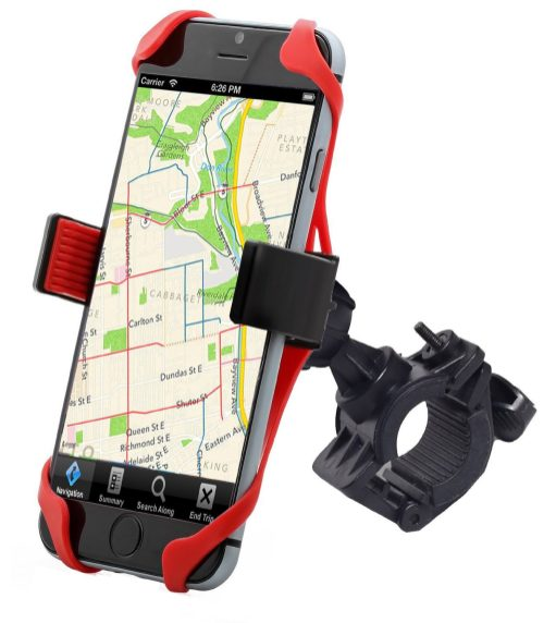 Liger Universal %22SuperGrip%22 Bike Mount Handlebar Holder for iPhone 6S, Galaxy devices-3