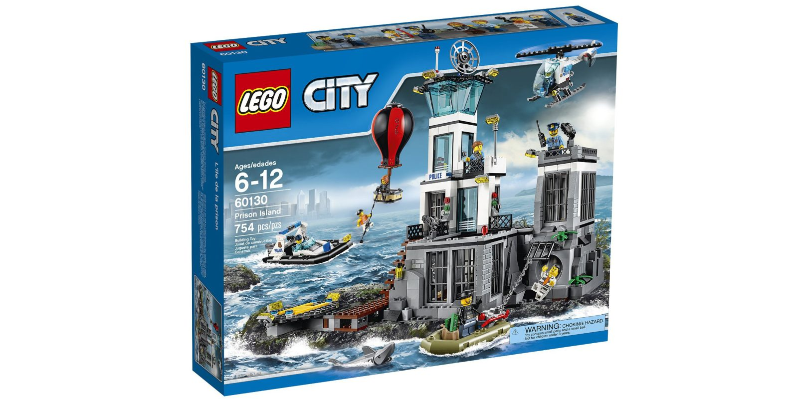 Save Big On Several Lego Sets City Prison Island 72