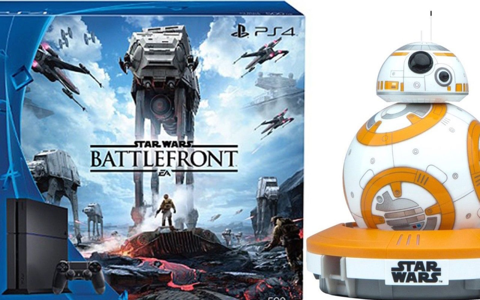 Star Wars Battlefront 9to5toys Bb8 Special Edition Bundle By Sphero App Enabled Droid