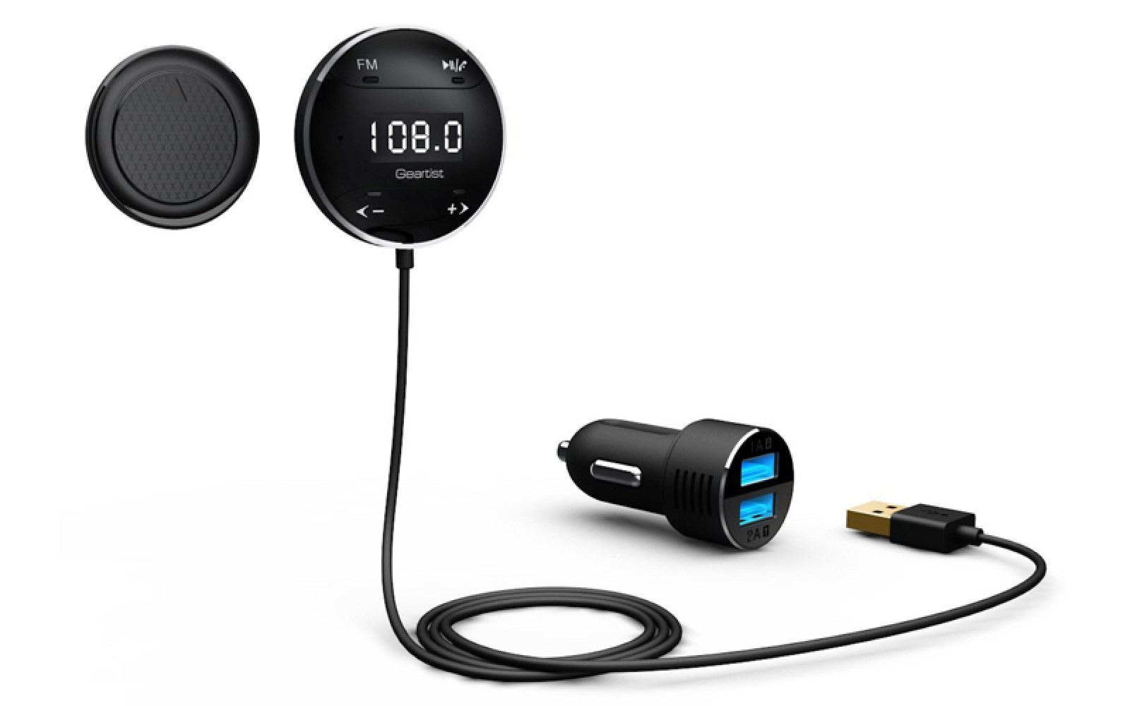 Smartphone Accessories: Lumsing Bluetooth FM Transmitter $17, Tronsmart Quick Charge 2.0 18W USB Charger $6, more