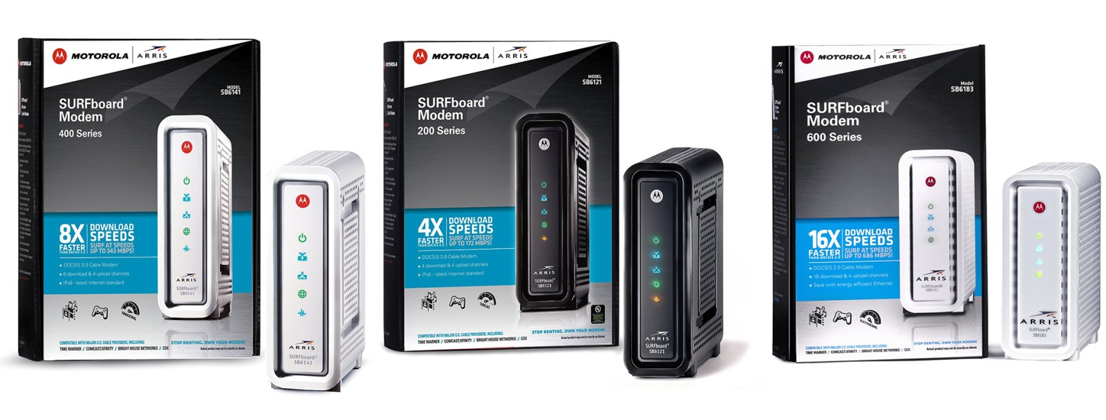 End the madness – stop renting your cable modem with these refurb Motorola deals from $35 shipped (Orig. up to $130)