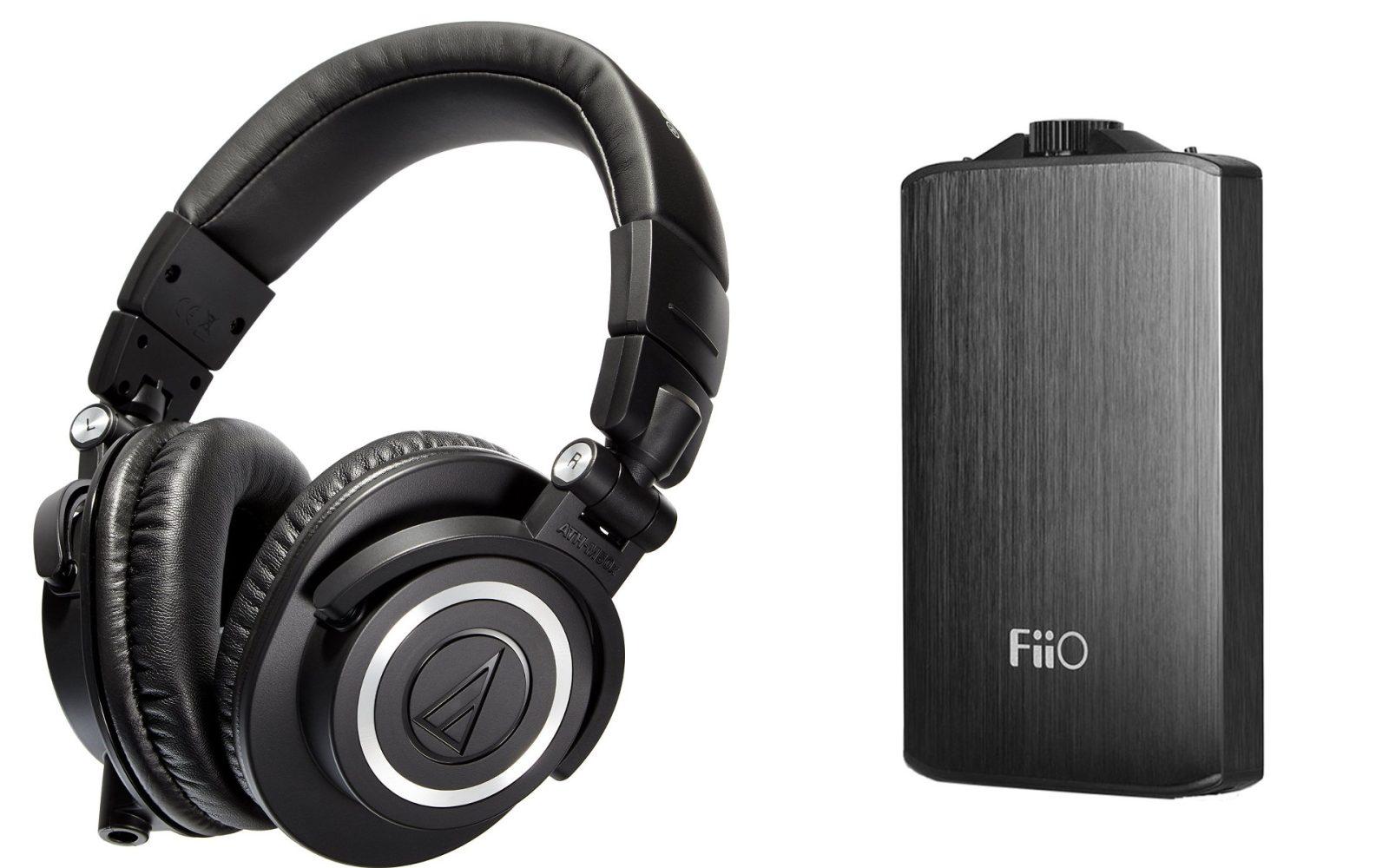 5c33c105b33 Audio-Technica's best selling ATH-M50x studio headphones + FiiO A3 amp $130  shipped ($180+ value)