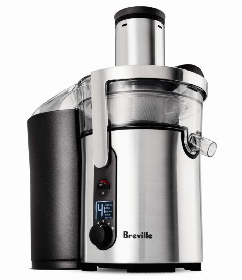 Breville Juice Fountain Multi-Speed 900-Watt Juicer (BJE510XL)