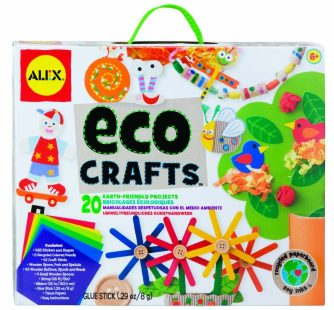 Eco Crafts recycled paper crafts