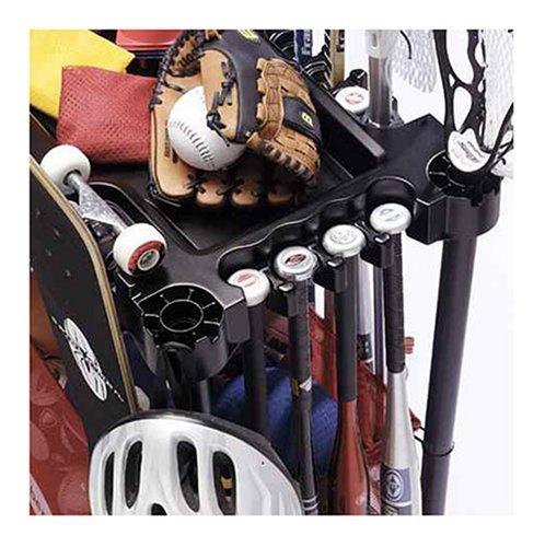 rubbermaid sports gear storage