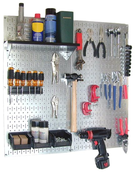 Wall Control Galvanized Pegboard