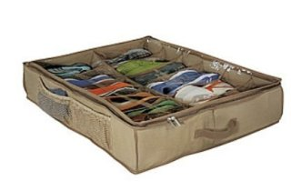 richards homewares cedar shoe underbed storage