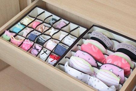 sorbus foldable drawer dividers