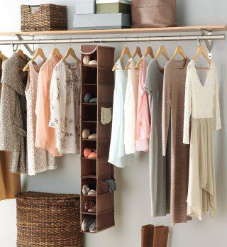 whitmor hanging shoe rack