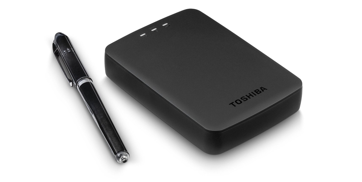Cast movies from the couch with the Toshiba Canvio AeroCast 1TB Wireless Portable Hard Drive for $59 shipped (Reg. $75) - 9to5Toys