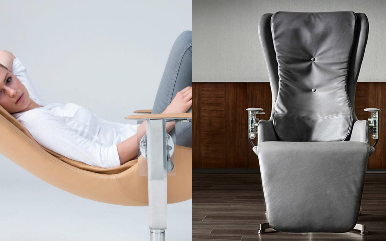 This gesture-controlled desk chair was made to accompany ...