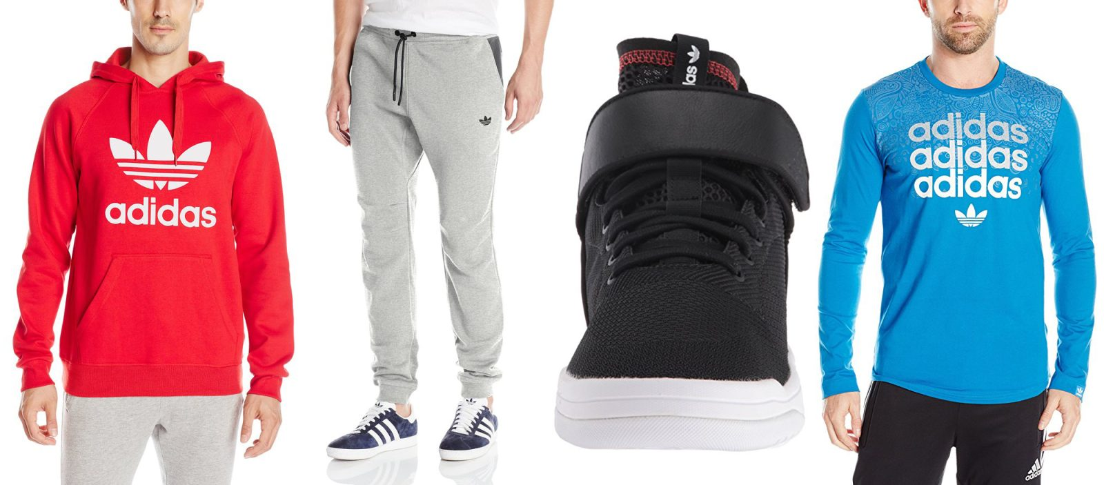 buy popular b5d75 1c1e3 Today s Amazon Gold Box takes up to 50% off adidas shoes, clothes and more   jogger pants  43, hoodie  29, more