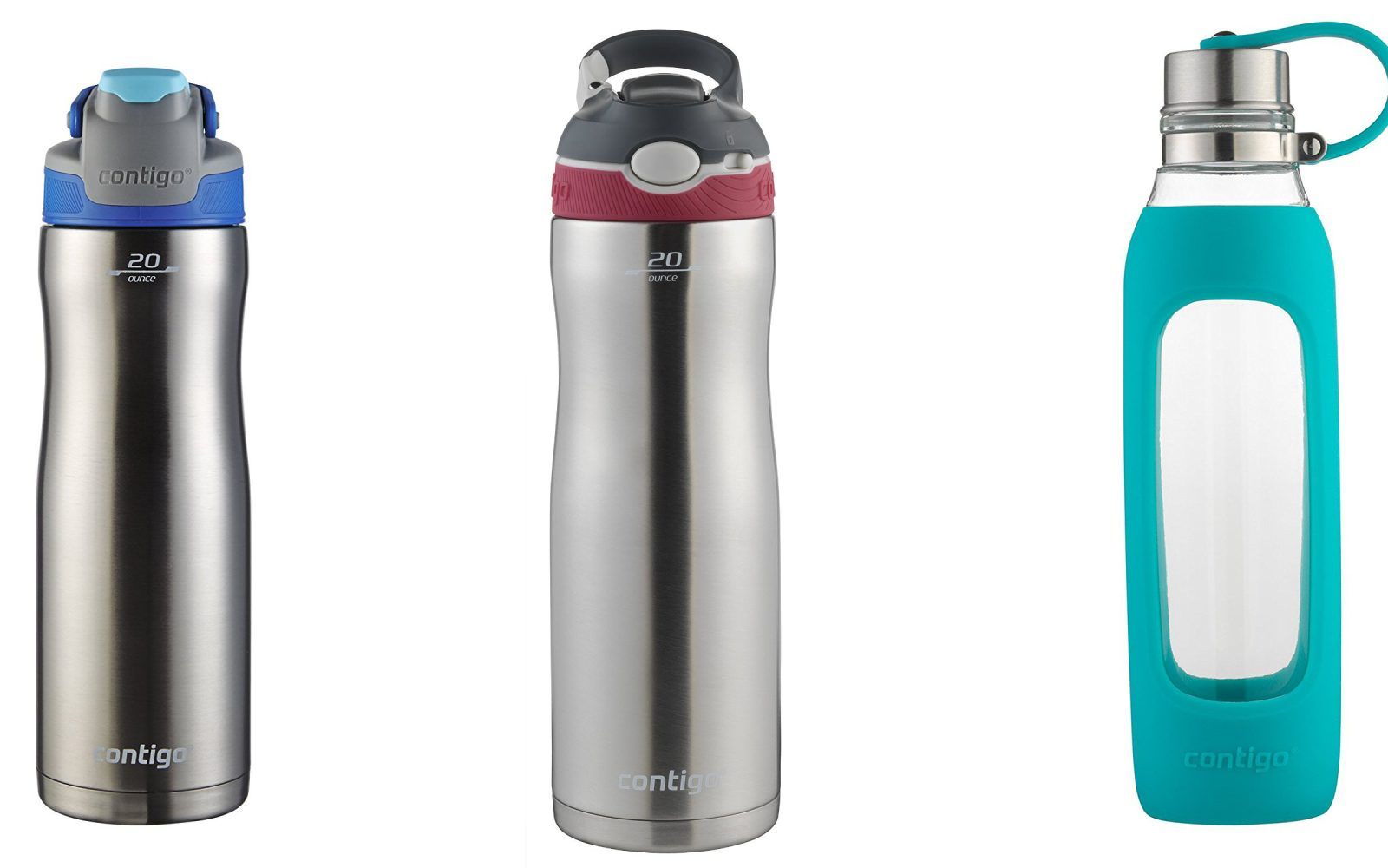 ab5beb3f78 Grab a brand new Contigo water bottle from just $12 Prime shipped: Ashland Chill  Stainless Steel $15, more