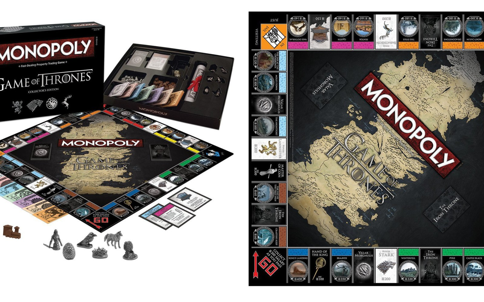 Play Monopoly Game Of Thrones Style With The Collector's