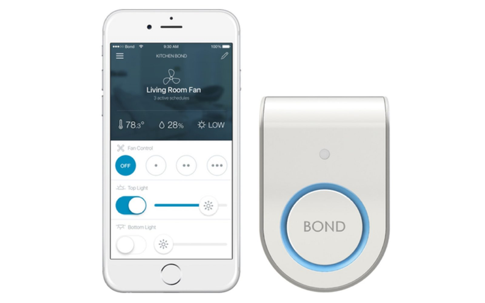 Bond integrates with SmartThings, Nest and iPhone to make any home a