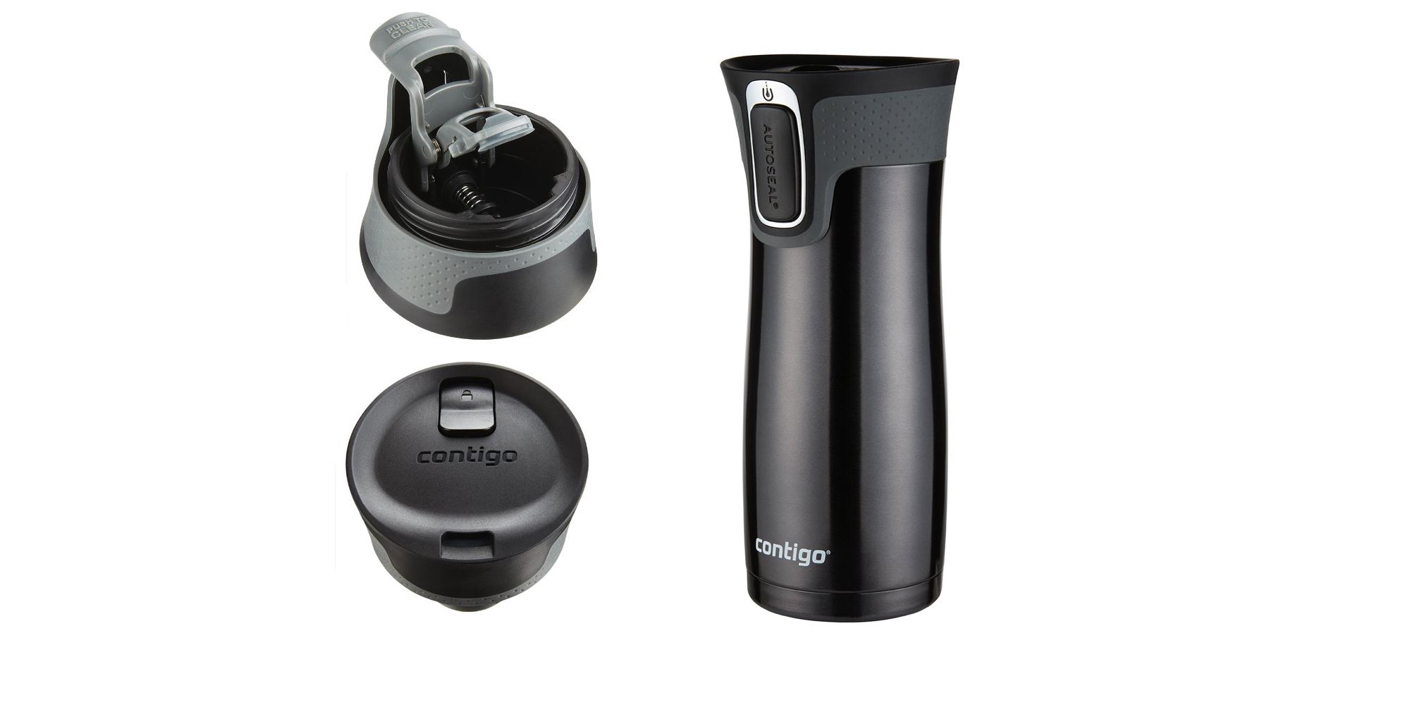 Top Insulated Steel Travel The Mug Stainless Autoseal Rated Contigo N80OZnPkwX