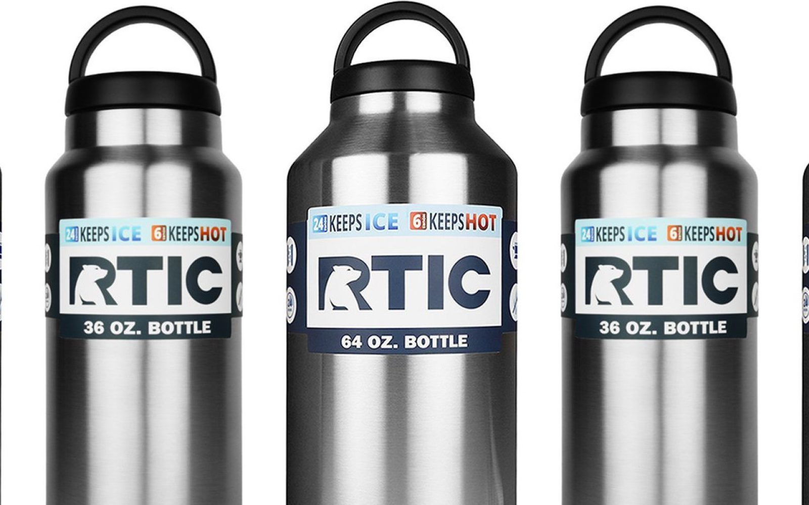 4ec22652cb1 RTIC Stainless Steel Bottles: 32oz $14.50 or 64oz from $18 - 9to5Toys