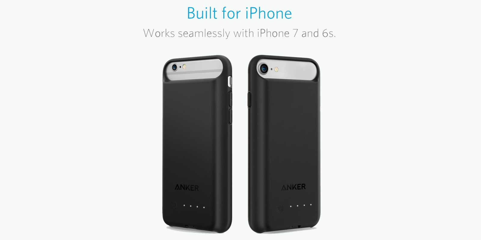 the best attitude 9c622 9f2e0 Anker's iPhone 7/6/s 2200mAh MFi Battery Case leaves your Lightning ...