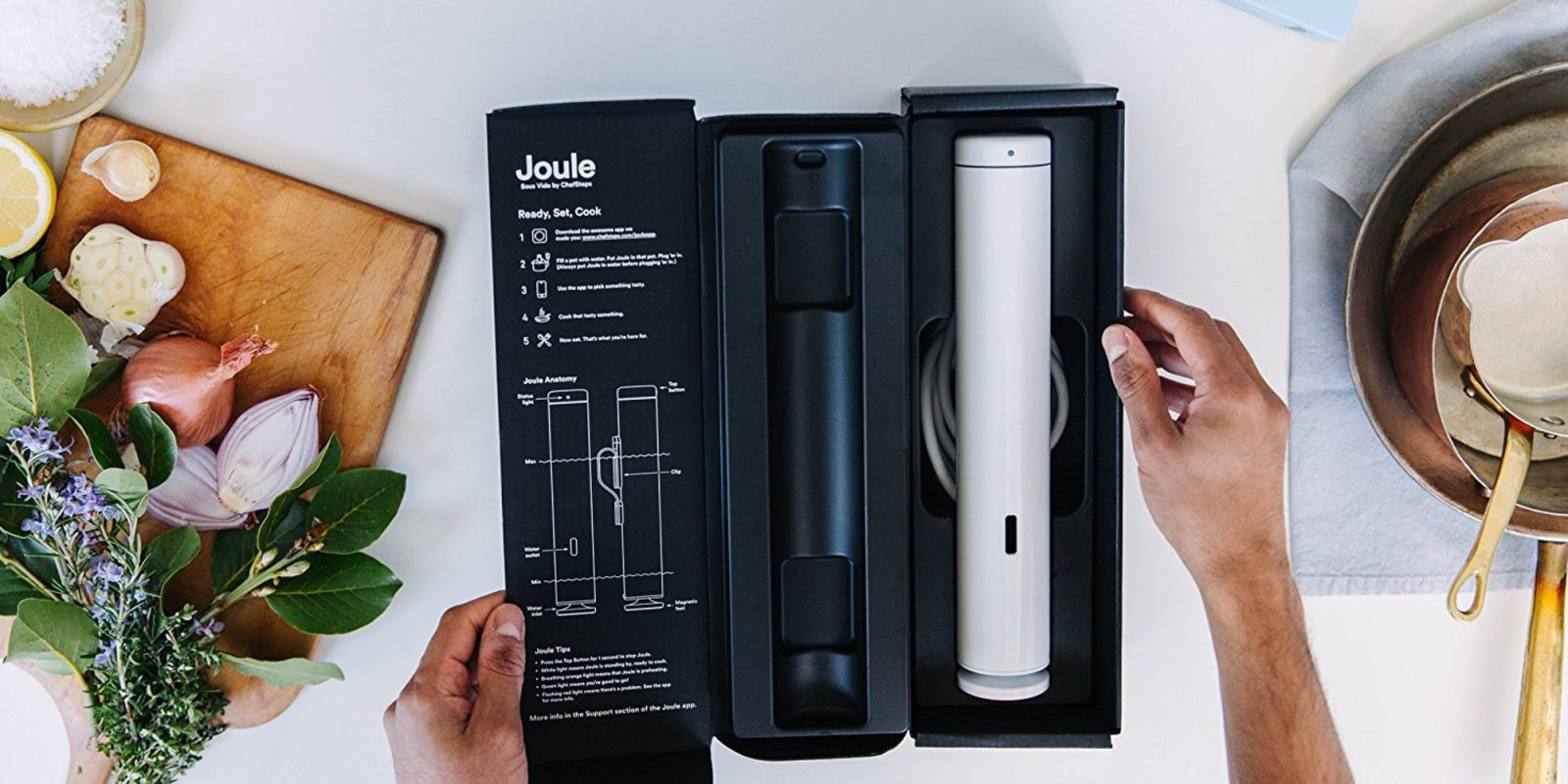chefsteps cs20001 joule sous vide drops to 149 shipped 30 off