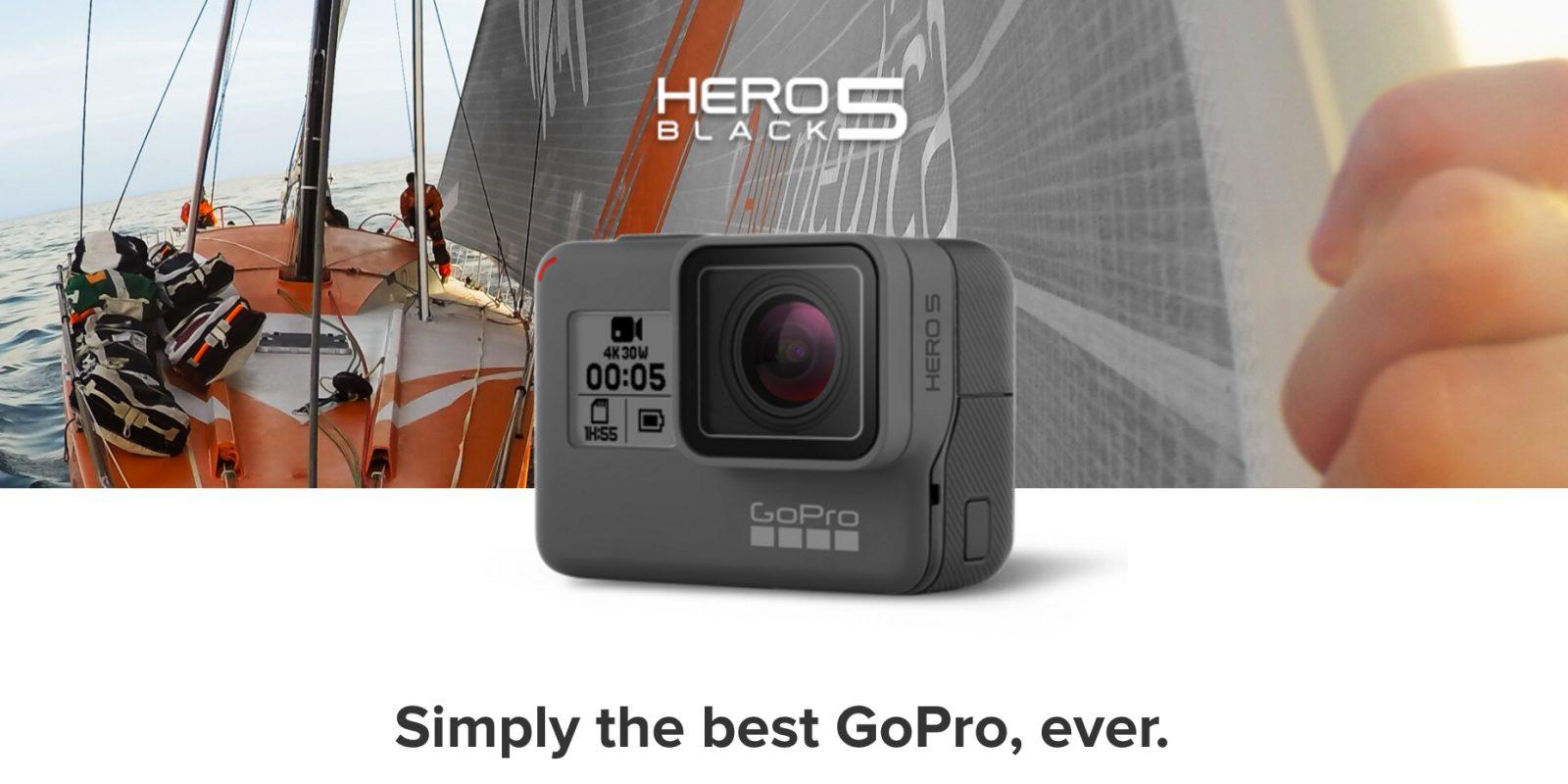 Gopro Hero5 4k Action Camera For 335 Shipped Reg 399 9to5toys Hero 5 Black Edition Go Pro