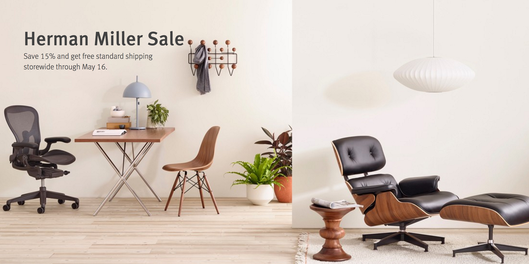 herman miller chair sale lowes rocking chairs 15 off delivers rare discounts free shipping