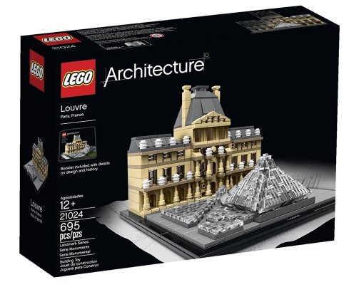 LEGO Architecture Louvre Building Kit -2